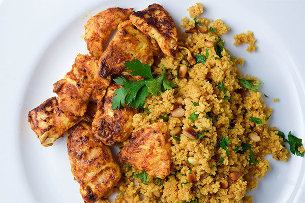 Tandoori Chicken and Couscous