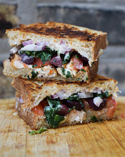 Chicken and Veggie Panini
